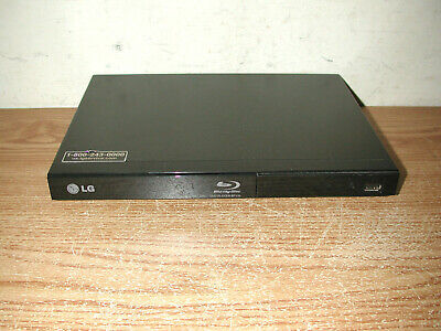 LG BP135 BLU-RAY DISC / DVD PLAYER WITH USB INPUT, NO REMOTE OR ADAPTER CORD
