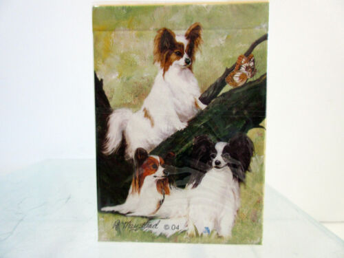 New Papillon Playing Cards Poker Card Set By Ruth Maystead Papillons