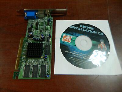 - Radeon 7000 64M TVO 1024-9112-06-SA Video Card with Driver Installation CD