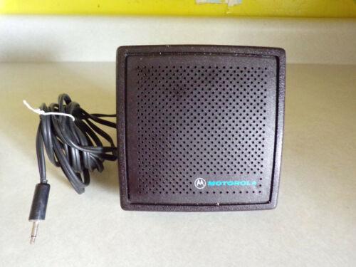 Motorola external speaker for Ham radio