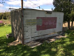 Truck box AKA shed