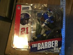 NFL Mcfarlane TIKI BARBER Series 11 NEW YORK GIANTS Blue
