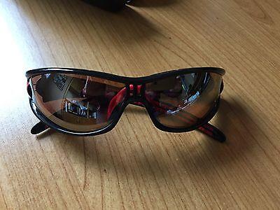 adidas A267 6073 Evil Eye S Radbrille Sportbrille Rot-Schwarz