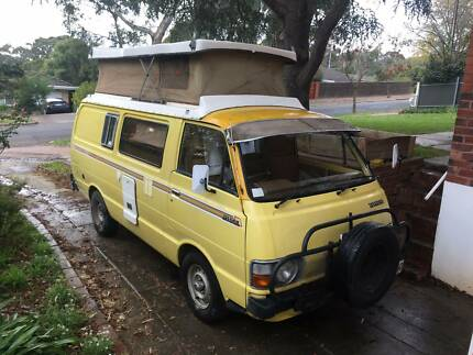 Toyota Hiace Campervan Pop-Top and Dual Fuel Seppeltsfield Gawler Area Preview