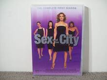 Sex and the City - Complete Season 1 DVD - 2 Disc Set - Region 4 Blakeview Playford Area Preview
