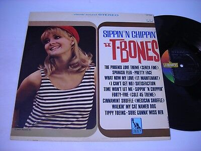 The T - Bones Sippin' 'N Chippin' 1965 Stereo LP VG++