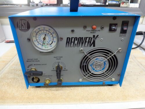 RST Recover X RRU050 Oilless Refrigerant Recovery Machine
