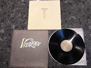 Original Pressing Pear Jam Vitalogy LP Record