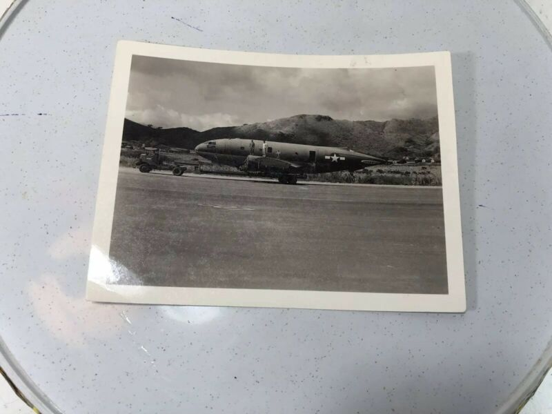 Vintage Army Air Force Official Photo Plane