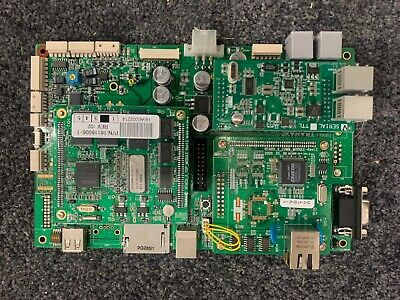 Genmega Tranax Hantle Atm Acu 3 Main Board With Modem And Emv Chip Board