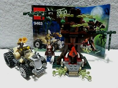 Lego Monster Fighters The Werewolf Complete (9463) Manual & Figures