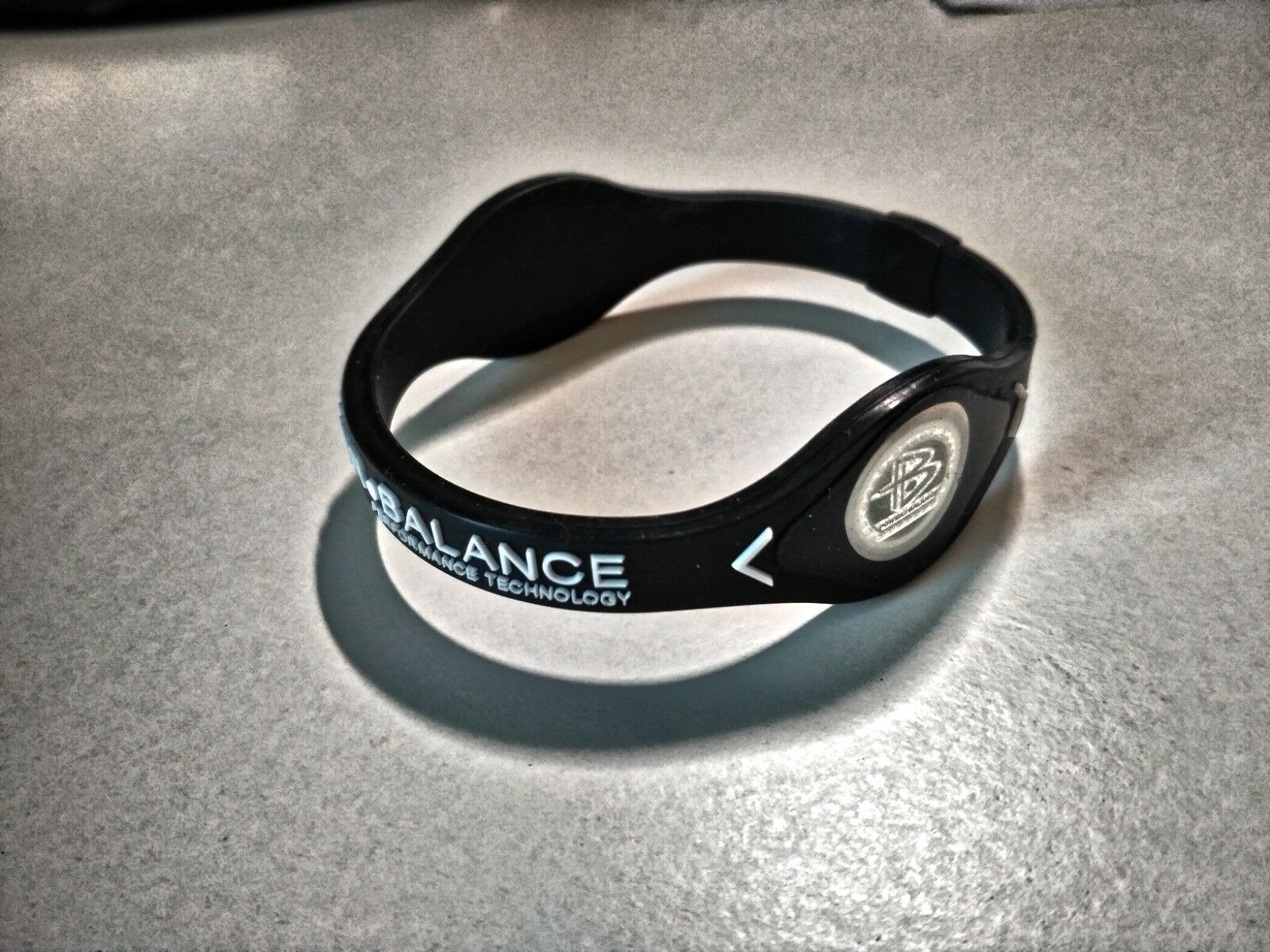 Power Balance Silikon Energie Band, Fitness Armband, Hologramm, Ionenband, Gr. S