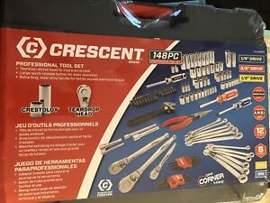 Crescent 148pc Tool/Socket Set **Brand New In Box**