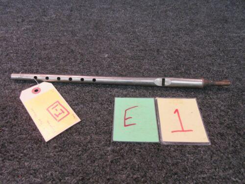 "LC L C 3 Antique Flute Recorder Metal Flagellate Crossed Hammer 15"" Anvil Mallet"