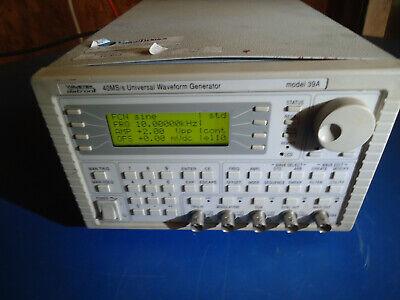Wavetek Model 39a 40mss Universal Waveform Generator 2