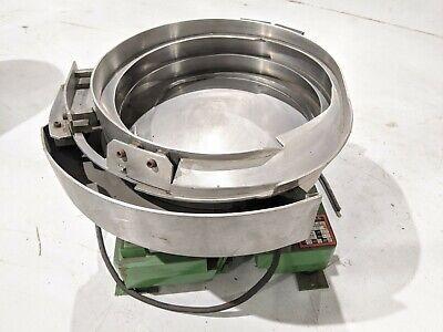Service Engineering 20499 797 Vibratory Feeder System 115v 25 Ppm 12 Bowl Cw