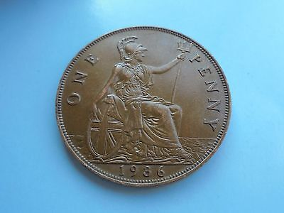 1936 Penny, George V. Excellent Condition.