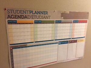 Wall student planner.
