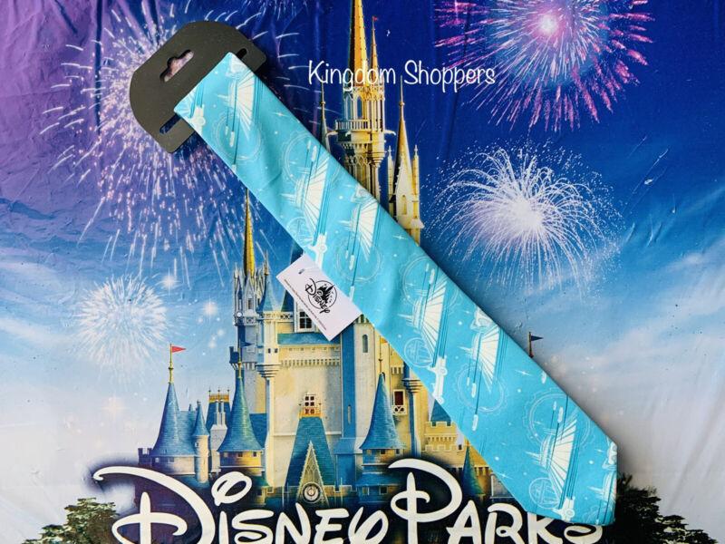 2021 Disney Parks Space Mountain Tomorrowland Magic Kingdom Mens Dress Tie NWT
