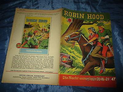 Romanheft  1953  :  ROBIN HOOD , Nr. 7 , illustriert , Jupiter - Verlag