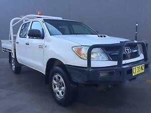 2007 Toyota Hilux 4x4!! 2017 REGO!! Diesel! Turbo! Ute SR Dual Cab !! Blacktown Blacktown Area Preview