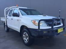 2007 Toyota Hilux 4x4!! 2017 REGO!! Diesel! Turbo! Ute SR Dual Cab !! Blacktown Blacktown Area Preview