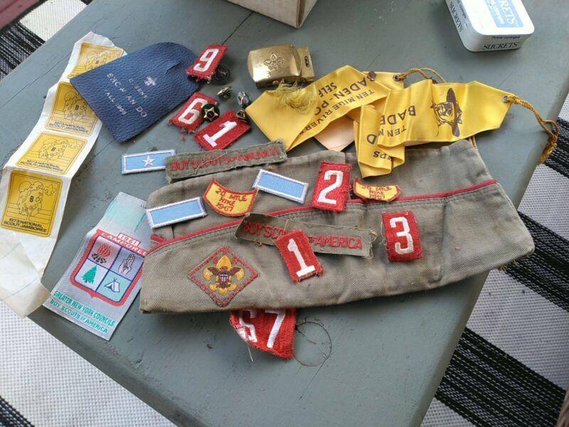 Boy Scout Lot Vintage Mixed