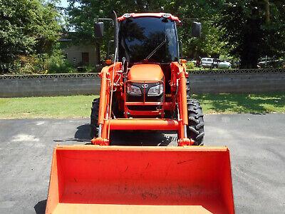 2011 Kubota M7040 4x4 Tractor Grand Ultra Cab La1153 Loader