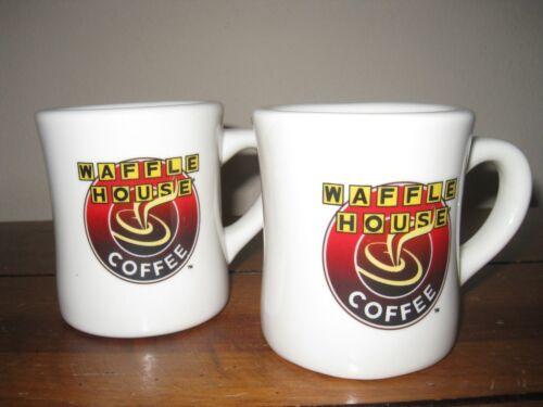 Two (2) Waffle House Coffee Mugs