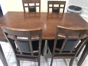7 piece dinning table for sale 100$