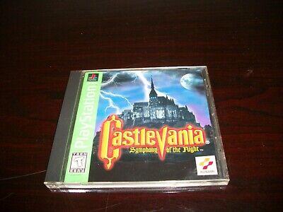 Castlevania Symphony of the Night (Playstation, 1998) Complete CIB Castlevania Symphony Of The Night Playstation