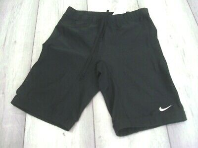 NIKE DRI - FIT RUNNING SHORTS SIZE LARGE BLACK
