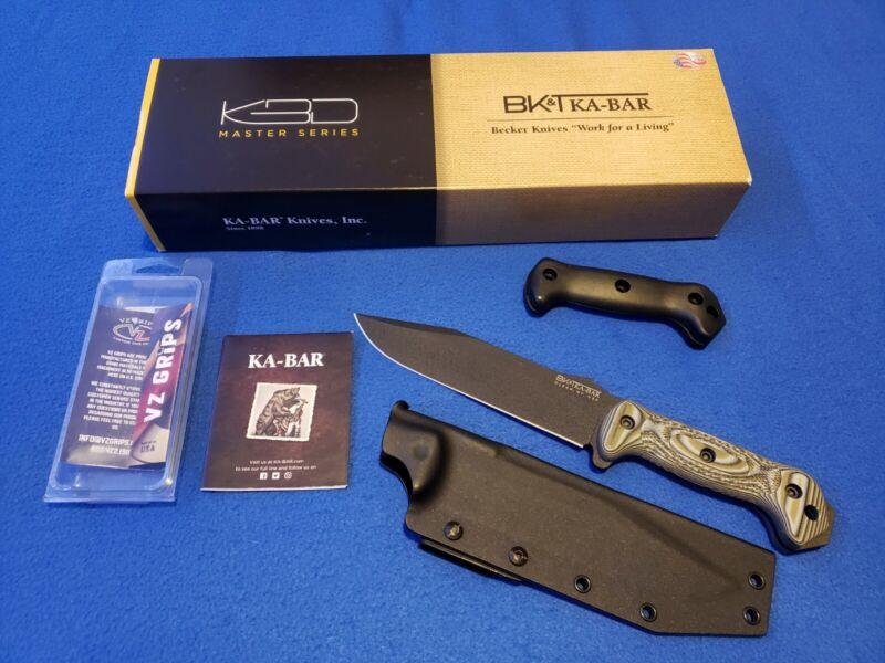 "KA-BAR Becker BK7 Fighting Utility Knife 7"""