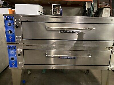 Bakers Pride Stack Electric Pizza Ovens Eb-8