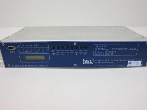 Schweitzer (SEL) Directional Reclosing/Overcurrent Relay SEL-351 03510M42533241X