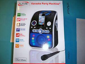 ilive cd g karaoke system machine