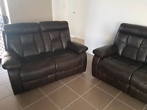 Genuine leather 3+2 seater Durack Brisbane South West Preview