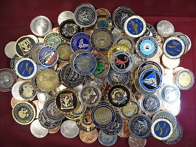 Military challenge coins...buy one get one free Army, Navy, Marines, Air Force - Buy One Get One