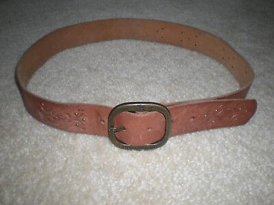 Abercrombie Leather Belt Sz L/XL