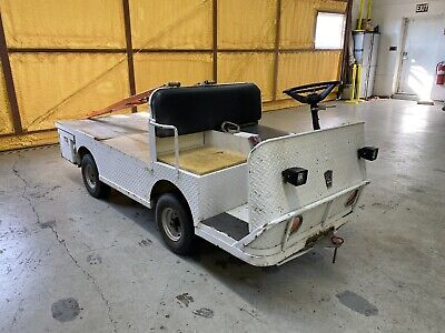 Taylor Dunn Electric Utility Cart With Trailers
