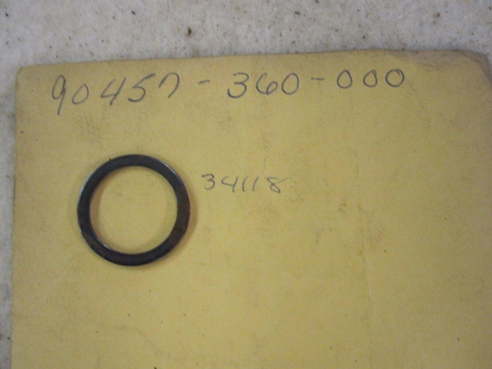 NOS Honda 74 75 76 77 78 MT125 CR125 MR175 CR125 Thrust Washer 90457-360-000
