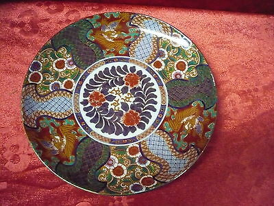 Very Nice Decorative Plate __ Saji __ Fine China __ Hand Painting __26cm__ Japan