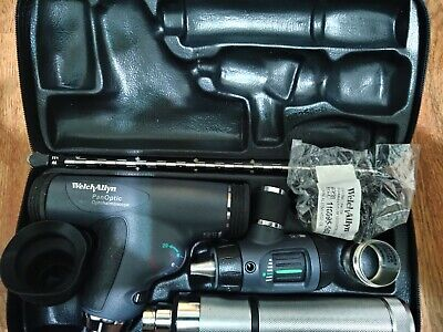 Welch Allyn Diagnostic Set Panoptic Ophthalmoscope Macroview Otoscope 97200-mpc