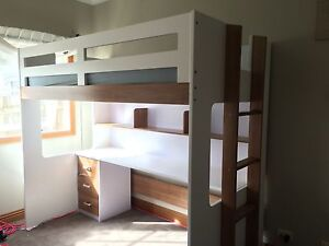 King single Loft bed Oakleigh South Monash Area Preview