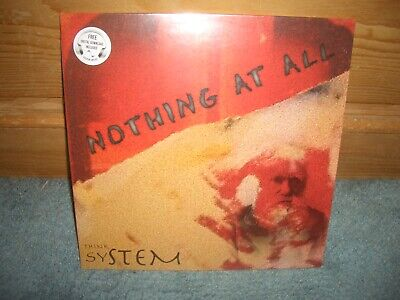 THINK SYSTEM NOTHING AT ALL BRAND NEW-STILL SEALED THINK SYSTEM STEREO LP