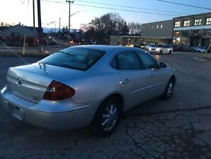 2005 Buick Allure silver on grey