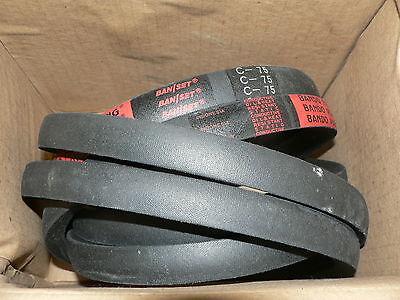 Bando Power King Set Of Belts C-75-2