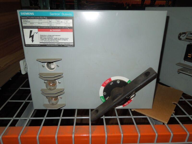 Siemens Sxpgr314 Ground Detector Potentializer Bus Plug Surplus No Box