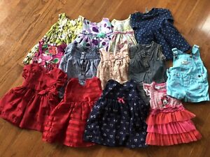 Lot of 6-12mo&12-18mos girls clothes