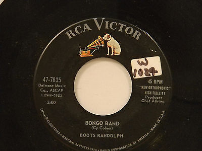 Boots Randolph 45 BIG DADDY bw BONGO BAND   VG+ to VG++ (Big Daddy Boots)